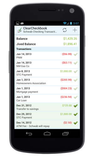 Mobile Money Management on your Android device!