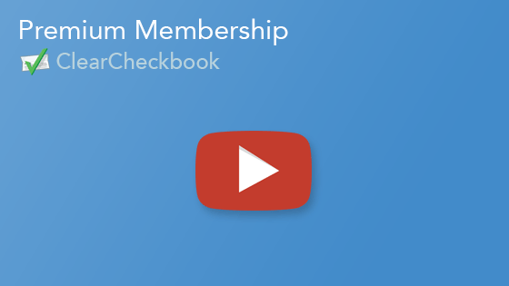 ClearCheckbook's Premium Features to help your finances